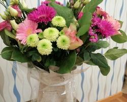 Bouquet 3 avec Box eau